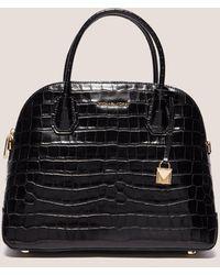 Michael Kors - Womens Mercer Dome Bag Black - Lyst