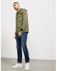 C P Company - Mens Three Layer Padded Jacket Khaki - Lyst