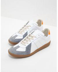 Maison Margiela - Replica Stripe Trainers White - Lyst