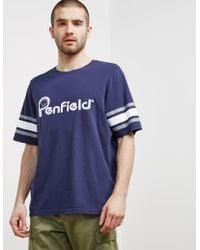 Penfield - Mens Ringold T-shirt Navy Blue - Lyst