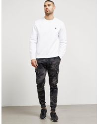 Polo Ralph Lauren - Mens Basic Crew Sweatshirt White - Lyst