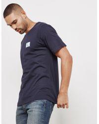 CALVIN KLEIN 205W39NYC - Mens Monogram Short Sleeve T-shirt Navy Blue - Lyst