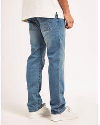 Armani Jeans - Mens J45 Stone Regular Jeans Blue - Lyst