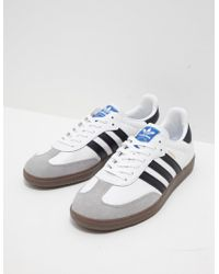 b81605756d29 Lyst - Adidas Originals Samba Super in White for Men