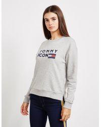 Tommy Hilfiger - Womens Lane Sweatshirt Grey - Lyst