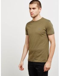 Vivienne Westwood - Mens Orb Short Sleeve T-shirt Green - Lyst