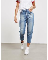 Tommy Hilfiger - Womens Izzy Cropped Jeans Blue - Lyst