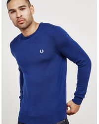 01f503d575d29d Men's Fred Perry Sweaters and knitwear - Lyst