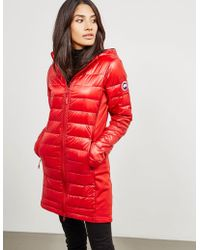 Canada Goose - Womens Hybridge Lite Lightweight Jacket Red - Lyst
