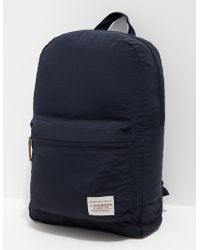 Barbour - Mens Beauly Backpack Navy Blue - Lyst
