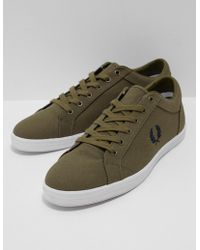 Fred Perry - Mens Baseline Olive - Lyst