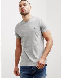 Vivienne Westwood - Mens Orb Short Sleeve T-shirt Grey - Lyst
