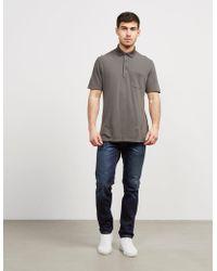 Z Zegna - Mens Pocket Short Sleeve Polo Shirt Green - Lyst