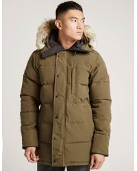 Canada Goose - Mens Carson Parka Green - Lyst