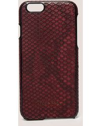CALVIN KLEIN 205W39NYC - Poppy Iphone 6s Cover - Lyst