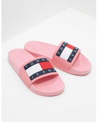 e15924f4f Lyst - Women s Tommy Hilfiger Slippers Online Sale