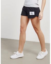 CALVIN KLEIN 205W39NYC - Womens True Icon Shorts Black - Lyst