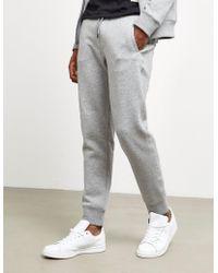 Emporio Armani - Mens Basic Slim Cuffed Track Trousers Grey - Lyst