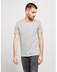 89f94c04 adidas Bos Patch Tee in Gray for Men - Lyst