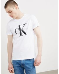 CALVIN KLEIN 205W39NYC - Mens Icon Short Sleeve T-shirt White - Lyst