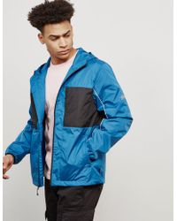 Stussy - Mens 3m Nylon Panelled Lightweight Jacket Blue - Lyst