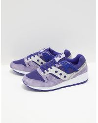Saucony - Mens Grid Sd 'public Gardens' Purple - Lyst
