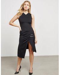 Versus - Womens Lion Pin Dress Black - Lyst
