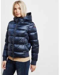 Parajumpers - Womens Mariah Bomber Jacket Blue - Lyst