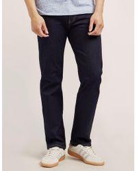 Armani Jeans - Mens J06 Dark Wash Jeans Blue - Lyst
