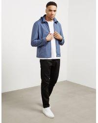 Pal Zileri - Mens Trim Hooded Jacket Blue - Lyst