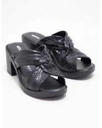 Melissa - Womens Baja Python Heels Black - Lyst