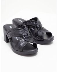 Melissa - Womens Baja Python Heels - Online Exclusive Black - Lyst