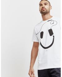 PS by Paul Smith - Mens Headphone Short Sleeve T-shirt White - Lyst