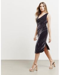Vivienne Westwood - Womens Anglomania Virginia Dress Grey - Lyst