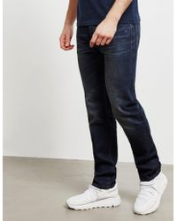 Barbour - Regular Jeans Navy Blue - Lyst