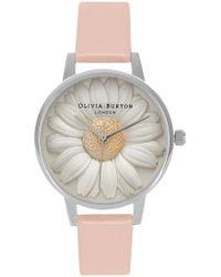 Olivia Burton - Flower Show 3d Daisy Watch - Lyst