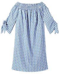 Maison Scotch - Off The Shoulder Cotton Dress - Lyst