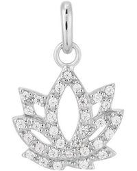 Kirstin Ash - Bespoke Lotus Charm - Lyst
