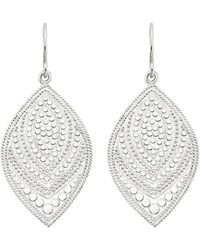 Anna Beck - Marquise Drop Earrings - Lyst