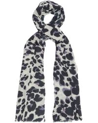 Lily and Lionel - Painted Leopard Scarf - Lyst