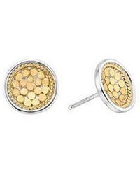 Anna Beck - Dish Stud Earrings - Lyst
