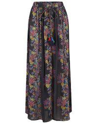 359970a91 Star Mela - Starmela Pati Print Maxi Skirt - Lyst