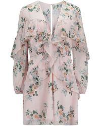 Talulah - Wild Thyme Long Sleeve Mini Dress - Lyst
