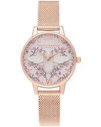 Olivia Burton - Meant To Bee Midi Dial Watch - Lyst