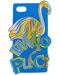 Emilio Pucci - Flamingo Iphone 8 Case - Lyst