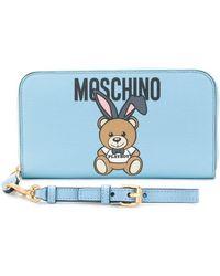 Moschino - Playboy Teddy Wallet - Lyst