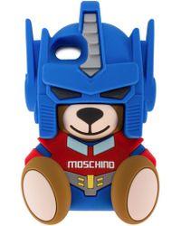 Moschino - Transformer Teddy Iphone 7 Case - Lyst