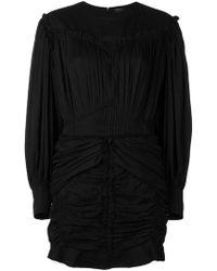 Isabel Marant - Vestito Con Design Plissettato - Lyst