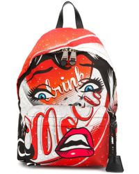 Moschino - Drink Print Backpack - Lyst