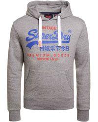 Superdry - Hoodie Met Logo - Lyst